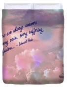 In The Sky 2016 Duvet Cover