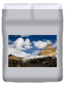 In The Sky And On The Earth Duvet Cover