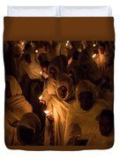 In The Streets Of Aksum Duvet Cover