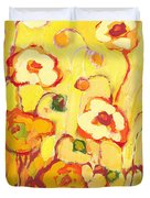 In The Summer Sun Duvet Cover by Jennifer Lommers