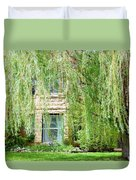 In The Weeping Willows Duvet Cover