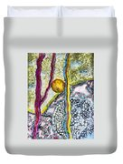 In The Woods And Swamps Duvet Cover