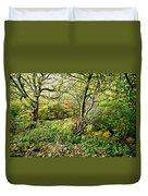 In The Woods Duvet Cover