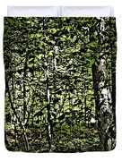 In The Woods Wc Duvet Cover