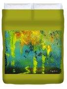 In To Abstract Duvet Cover