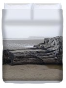 In With The Tides Duvet Cover