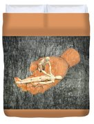 In Your Hands Duvet Cover