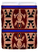 Inca Gecko Spirits Duvet Cover