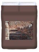 Inca Steps At Chinchero  Duvet Cover
