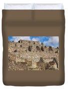 Inca Stone Ruins Duvet Cover