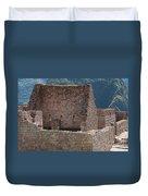 Inca Structure Duvet Cover