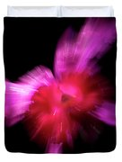 Incoming Attack Orchid Duvet Cover