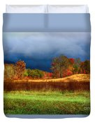 Incoming Storm Duvet Cover