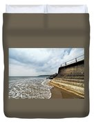 Incoming Tide - Charmouth Duvet Cover