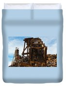 Independence Gold Mine Ruins Duvet Cover