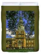 Independence Hall-philadelphia Duvet Cover