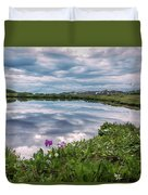 Independence  Pass Pond Duvet Cover