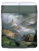 Index Peak Duvet Cover