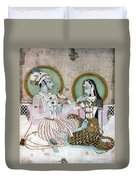India: Couple Duvet Cover