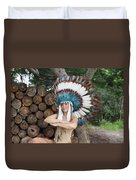 Indian 018 Duvet Cover