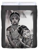 Indian Adornment Duvet Cover