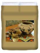 Indian Baskets 1 Duvet Cover