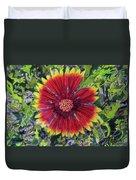 Indian Blanket Duvet Cover