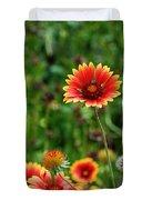 Indian Blanket Flower Duvet Cover