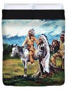 Indian Chiefs Duvet Cover