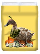 Indian Duck Duvet Cover