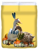Indian Ducks Duvet Cover