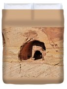 Indian Dwelling Canyon De Chelly Duvet Cover