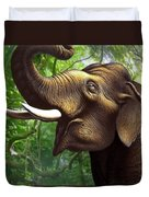 Indian Elephant 1 Duvet Cover