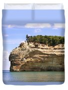 Indian Head Rock Duvet Cover