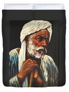 Indian Man Duvet Cover