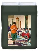 Indian Market Duvet Cover