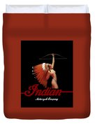 Indian Motorcycle Company Duvet Cover