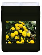Indian Mums - Yellow Chaamanthi Duvet Cover