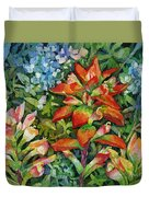 Indian Paintbrush Duvet Cover