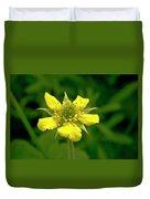 Indian Strawberry Flower Duvet Cover