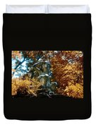 Indian Summer Along The Wissahickon Duvet Cover
