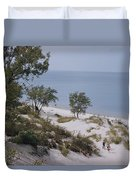 Indiana Dunes State Park Provides Duvet Cover