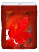 Indiana Fall Duvet Cover