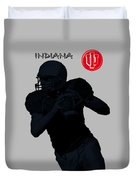 Indiana Football Duvet Cover