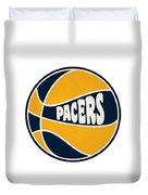 Indiana Pacers Retro Shirt Duvet Cover