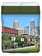 Indianapolis From The Park Duvet Cover
