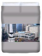 Indianapolis, Indiana Duvet Cover