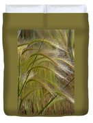 Indiangrass Swaying Softly With The Wind Duvet Cover