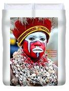 Indigenous Woman L A Duvet Cover