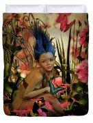 Indigo Featherdust Duvet Cover